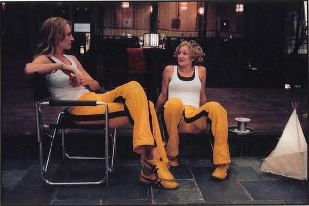 Kill Bill Uma Thurman Zoe Bell Stunt Double