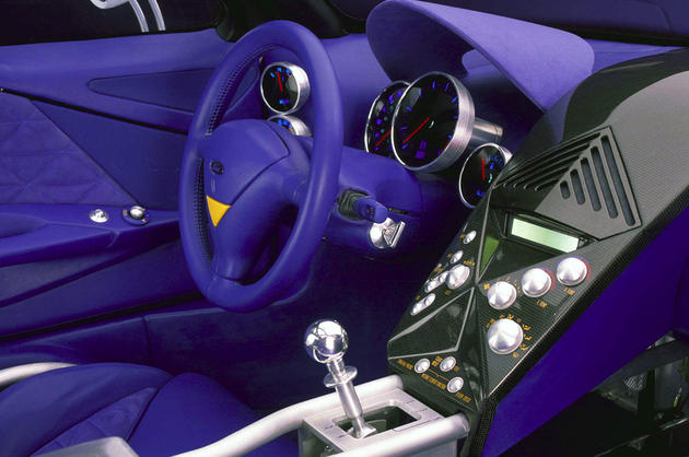 Ford GT90 Interior Blue