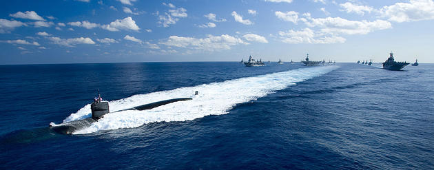 USS Houston Leads the way