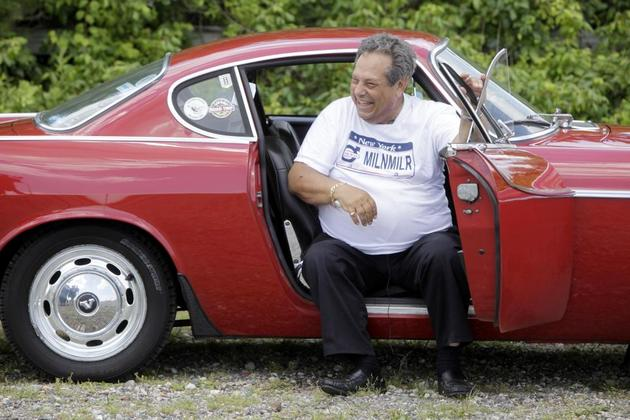 Irv and his Volvo P1800s