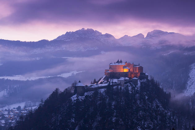 Werfen castle in Austria