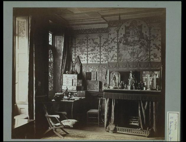 William Burges Private Study Room