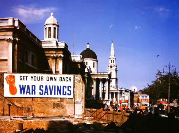 London 1940 German Raids Colour