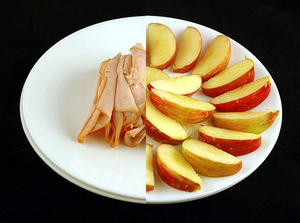 How 200 calories looks like in different foods