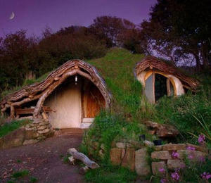 Hobbit House construction