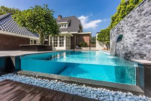 Incredible back yard design by Centric Design Group