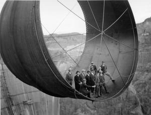 Construction of Hoover dam