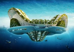 Lilypad, a floating ecopolis