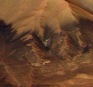 Demon's Face found on Mars Surface
