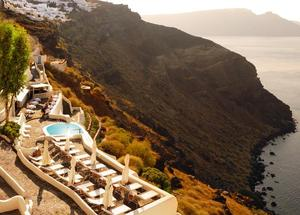 Mystique Resort in Santorini, Greece