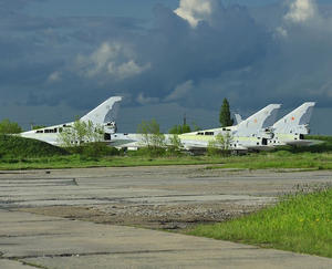 Abandoned Nuclear Bombers