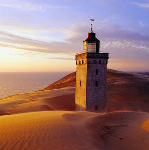 Rubjerg Lighthouse Sunset