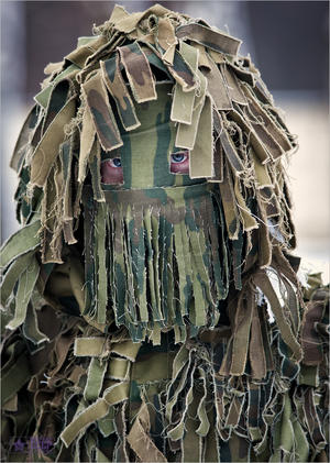 sniper mask in russia