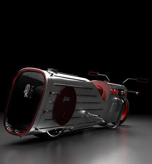 Cool Designed Motorcycle