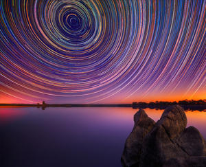 Startrails over Australia