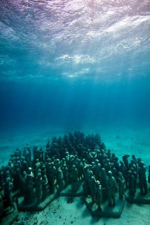 An Underwater Museum Of Statues Cancun Mexico I Like