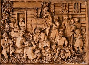 Amazing Wood Carved Art