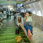 Bruce Campbell's Boeing 727-200 Home