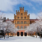 Beautiful Architecture of the university in Chernivtsi Ukraine