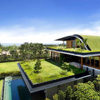 Stunning Gargen House Eco Friendly