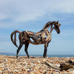 Heather Jansch Driftwood Sculpture