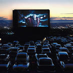 A drive in cinema in Utah