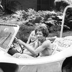 Hendrix in a dune buggy