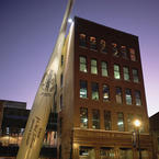 Louisville Slugger Largest Bat