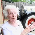 Margaret Dunning Oldest Driver on Our Planet