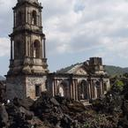San Juan Parangaricutiro Church