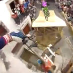 Urban downhill mountain biking in Brazil