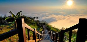Above the Clouds in Taiwan Wallpaper High Quality