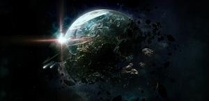 Activity of a Solar System HD wallpaper