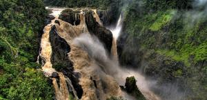Barron Falls by Aussie Harley HD Wallpaper