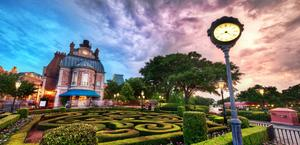 Disney World Garden HD Wallpaper