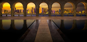 Doha Qatar by Nicolas Kamp HD Wallpaper