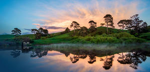 Hobbiton New Zealand HD Wallpaper