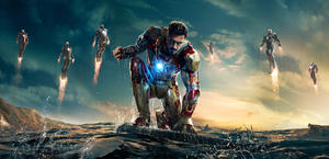 Iron Man 3 HD movie wallpaper