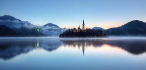 Lake Bled Slovenia by Conor MacNeill