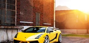 Lamborghini Gallardo Superleggera on ADV Wheels