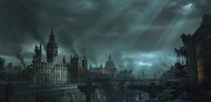 London Apocalypse artwork HD Wallpaper