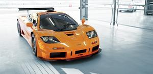 McLaren F1 GTR Race Car HD Wallpaper