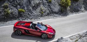 McLaren MP4-12C Spyder Wallpaper HD