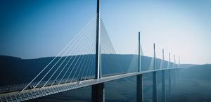 Millau Viaduct, France Big Wallpaper