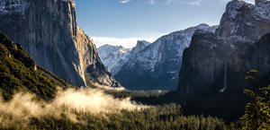 Morning in Yosemite National Park - Wallpaper