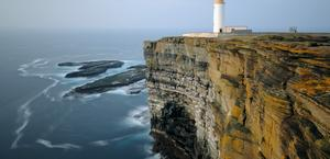 Noup head lighthouse scotland UK HD Wallpaper