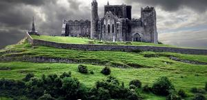 Medieval Ruins in Ireland Wallpaper