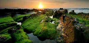Rocky Shore HD Wallpaper
