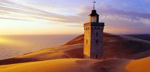 Rubjerg Lighthouse HD Wallpaper