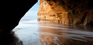 San Gregorio Cave in California